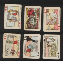 Buster Brown Collectible playing cards old cartoon deck